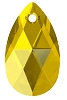 Swarovski 6106 Pear Pendant 16mm Light Topaz