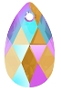 Swarovski 6106 Pear Pendant 16mm Light Colorado Topaz Shimmer