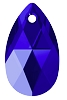 Swarovski 6106 Pear Pendant 16mm Majestic Blue