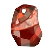 Swarovski 6191 Divine Rock Pendant 27mm Crystal Red Magma
