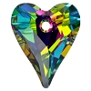 Swarovski 6240 Wild Heart Pendant 17mm Crystal Vitrail Medium (Protective Layer)