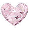 Swarovski 6264 Truly In Love Heart 18mm Rosaline
