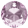 Swarovski 6430 Classic Cut Pendant 10mm Light Amethyst