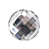Swarovski 6621 Twist Pendant 18mm Crystal Comet Argent Light (Protective Layer)