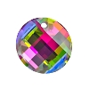 Swarovski 6621 Twist Pendant 18mm Crystal Vitrail Medium (Protective Layer)