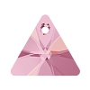 Swarovski 6628 Triangle Pendant 12mm Crystal Lilac Shadow