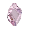 Swarovski 6650 Cubist Pendant 22mm Light Amethyst