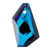 Swarovski 6670 De-Art Pendant 18mm Crystal Bermuda Blue (Protective Layer)