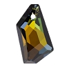 Swarovski 6670 De-Art Pendant 24mm Crystal Tabac (Protective Layer)