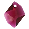 Swarovski 6680 Cosmic Pendant 14mm Ruby