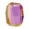 Swarovski 6685 Graphic Pendant 28mm Crystal Lilac Shadow