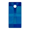 Swarovski 6696 Urban Pendant 20mm Crystal Bermuda Blue (Protective Layer)