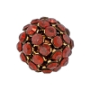 Swarovski Mesh Ball 40512 12mm Crystal Red Magma (2 Pieces) - CLEARANCE
