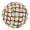 Swarovski Mesh Ball 40519 19mm Crystal Golden Shadow (1 Piece) - CLEARANCE