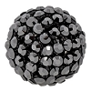 Swarovski Mesh Ball 40519 19mm Jet Hematite (1 Piece) - CLEARANCE