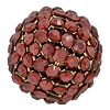 Swarovski Mesh Ball 40519 19mm Crystal Red Magma (1 Piece) - CLEARANCE