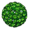 Swarovski 86001 Pave Ball 4mm Dark Moss Green (12 Pieces)