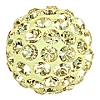 Swarovski 86001 Pave Ball 10mm Jonquil (12 Pieces)