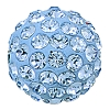Swarovski 86001 Pave Ball 10mm Light Sapphire (12 Pieces)