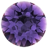 Swarovski 1028 Xilion Pointed Back Chaton PP10 Purple Velvet (1,440 Pieces)