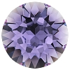 Swarovski 1028 Xilion Pointed Back Chaton PP8 Tanzanite (1,440 Pieces)