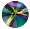 Swarovski 1122 Rivoli 14mm Crystal Rainbow Dark