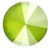 Swarovski 1122 Rivoli 12mm Crystal Lime