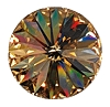 Swarovski 1122 Rivoli SS34 Light Colorado Topaz