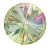 Swarovski 1122 Rivoli 12mm Crystal Luminous Green