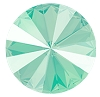 Swarovski 1122 Rivoli 12mm Crystal Mint Green