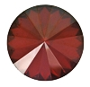 Swarovski 1122 Rivoli 14mm Crystal Red Magma