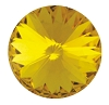 Swarovski 1122 Rivoli 14mm Sunflower
