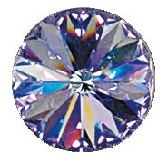 Swarovski 1122 Round Rivoli 18 mm Crystal Vitrail Light price for 1 piece