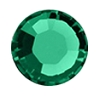 Swarovski 1128 Channel SS29 Emerald Unfoiled (360 Pieces)