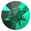 Swarovski 1185 Pointed Chaton 1mm Emerald Unfoiled (1,440 Pieces)