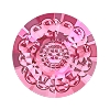 Swarovski 1681 Vision Round Stone 12mm Rose (72 Pieces)