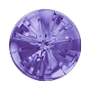 Swarovski 1695 Sea Urchin Round Stone 10mm Tanzanite (72 Pieces)