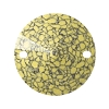 Swarovski 3200B Rivoli Sew-On 14mm Marbled Yellow (72 Pieces)