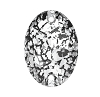 Swarovski 3210 Oval Sew-On 10x7mm Crystal Black Patina (72 Pieces)
