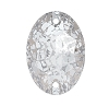 Swarovski 3210 Oval Sew-On 16x11mm Crystal Silver Patina (72 Pieces)
