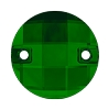 Swarovski 3220 Chessboard Sew-On 14mm Dark Moss Green (96 Pieces)