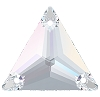 Swarovski 3270 Triangle Sew-On 16mm Crystal AB (72 Pieces)