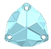 Swarovski 3272 Trilliant Sew-On 20mm Aqua (15 Pieces)