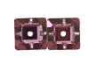 Swarovski 3400 Square Lochrosen 6mm Crystal Antique Pink (72 Pieces) - CLEARANCE