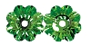 Swarovski 3700 Margarita Sew-On 12mm Peridot Unfoiled (12 Pieces) - CLEARANCE
