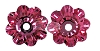 Swarovski 3700 Margarita Sew-On 6mm Rose Unfoiled  (720 Pieces)