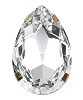 Swarovski 16904 Large Pear Single Stone Setting