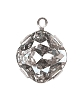 Swarovski 18704 Antique Square Single Stone Setting