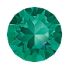 Swarovski 1088 Xirius Pointed Back Chaton SS39 Emerald
