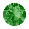 Swarovski 1088 Xirius Pointed Back Chaton SS34 Fern Green